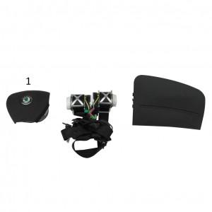 Kit Airbag Skoda Fabia 2007-2011-0