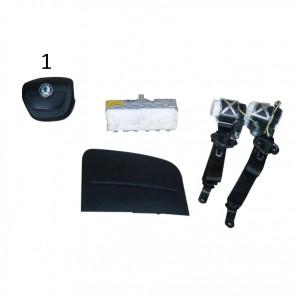 Kit Airbag Skoda Fabia 2012-2015-0