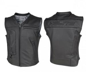 Custom: Gilet Airbag per motociclista in pelle-0