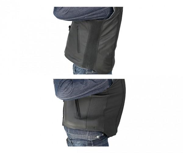 Custom: Gilet Airbag per motociclista in pelle-7075