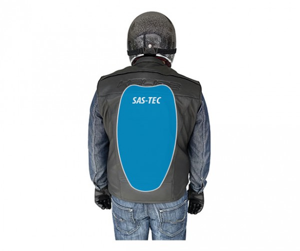 Custom: Gilet Airbag per motociclista in pelle-7079