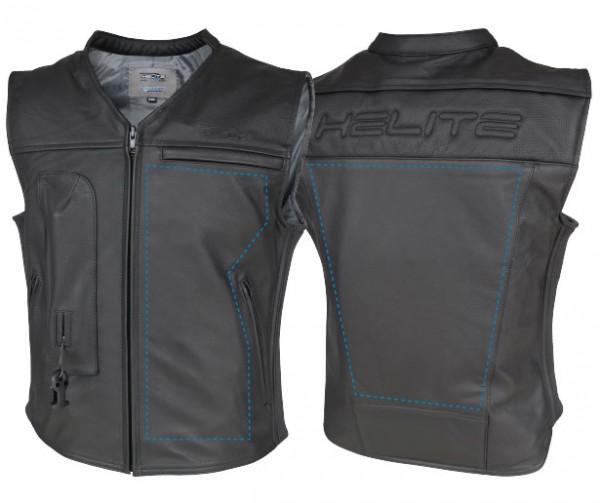 Custom: Gilet Airbag per motociclista in pelle-7083