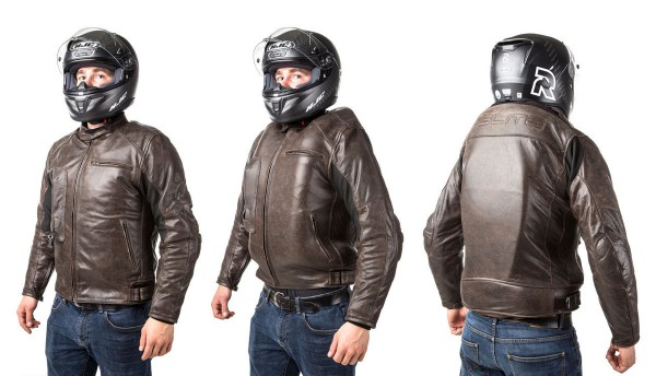 Roadster: Giacca airbag in pelle per motociclista-7099