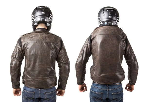 Roadster: Giacca airbag in pelle per motociclista-7100