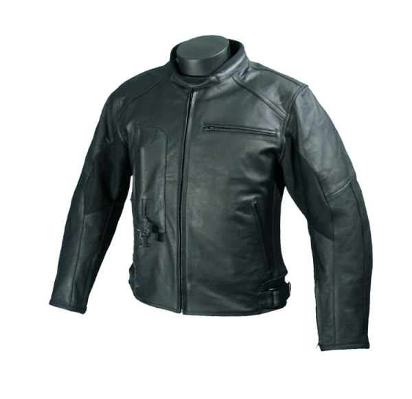 Roadster: Giacca airbag in pelle per motociclista-7102