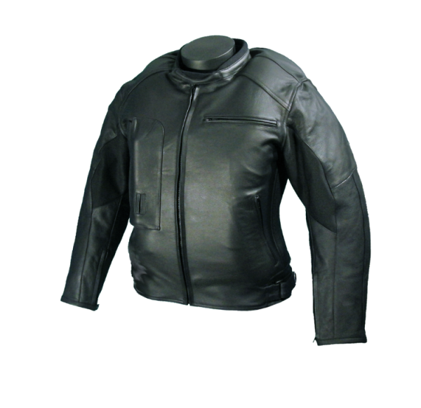 Roadster: Giacca airbag in pelle per motociclista-7103