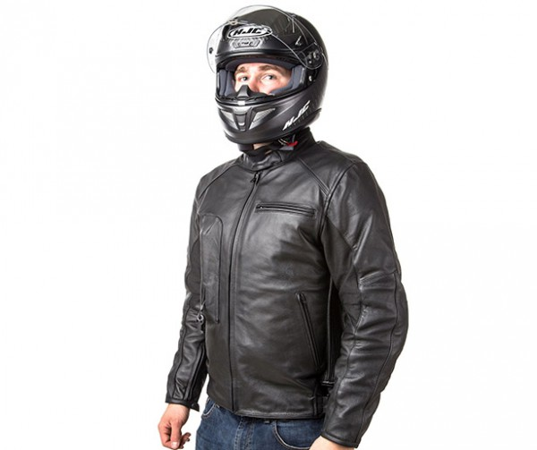 Roadster: Giacca airbag in pelle per motociclista-7109