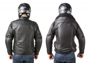 Roadster: Giacca airbag in pelle per motociclista-7112