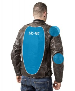 Roadster: Giacca airbag in pelle per motociclista-7119