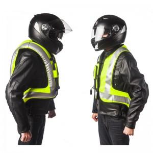 Turtle Hi Vis: Airbag per motociclista-0