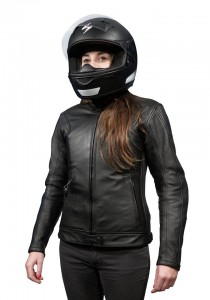 Xena: Giacca airbag in pelle per motociclista-0